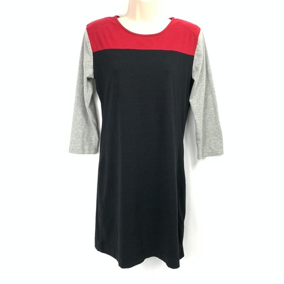 French Connection Colorblock Sweater Dress US12